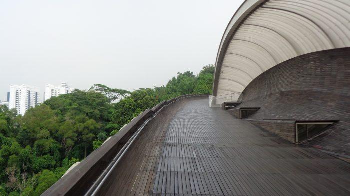 Henderson Wave Singapore: Jembatan Tertinggi di Singapura dengan Desain yang Unik