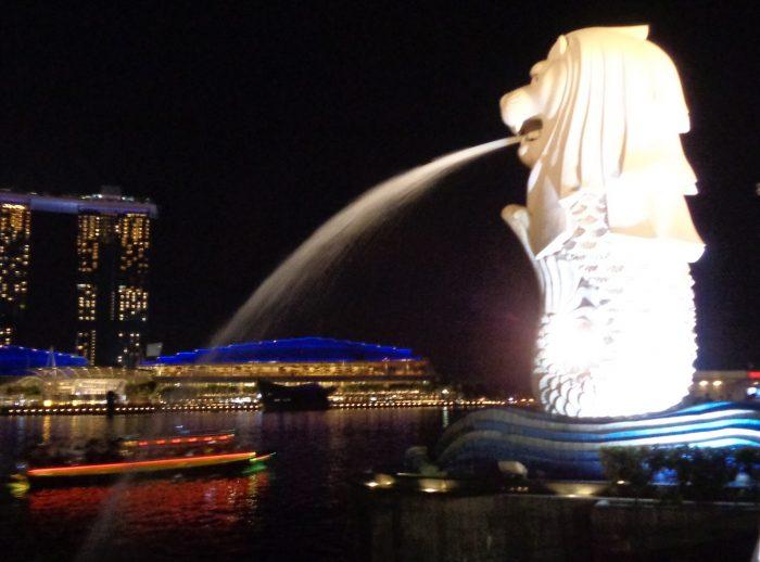 Wisata Murah Meriah Di Merlion Park Singapura